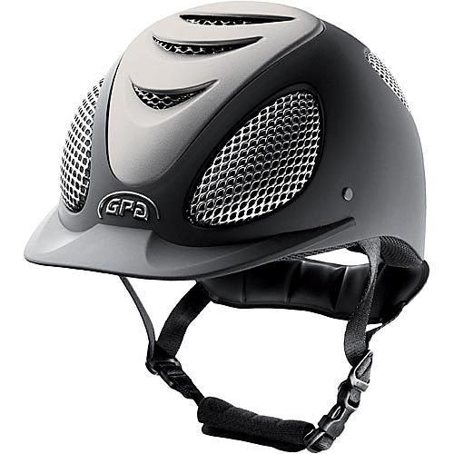 GPA® Speed Air Evolution Helm met silver