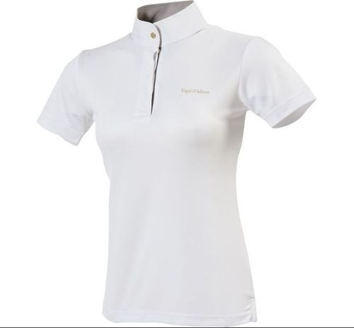 E-TH MESH POLO SHIRT KORTE MOUW, Kinderen