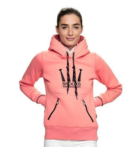 Spooks Crown Hoody Pink